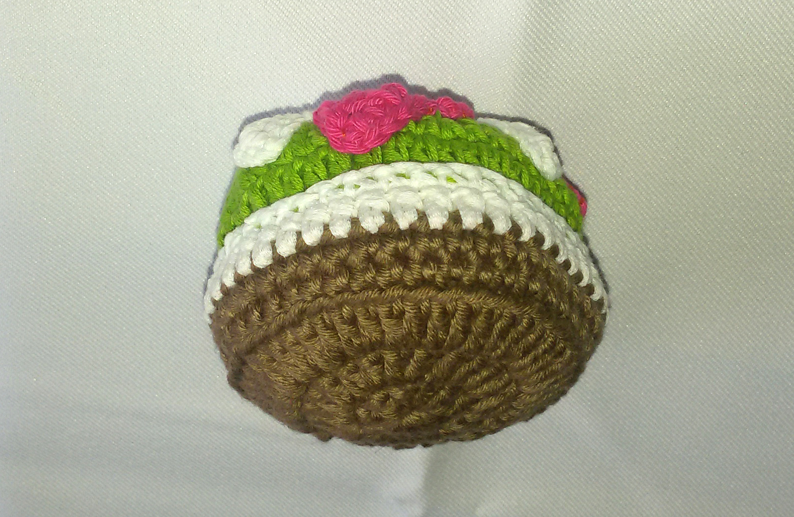 Portachiavi Cupcake Effetti Crochet