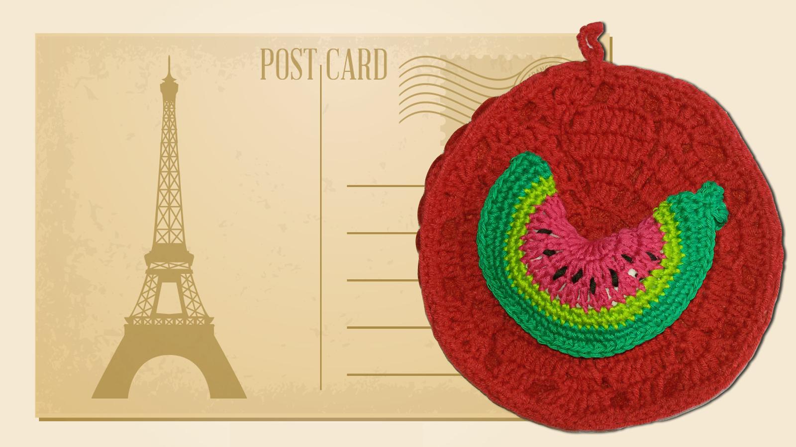 Potholders handmade crochet