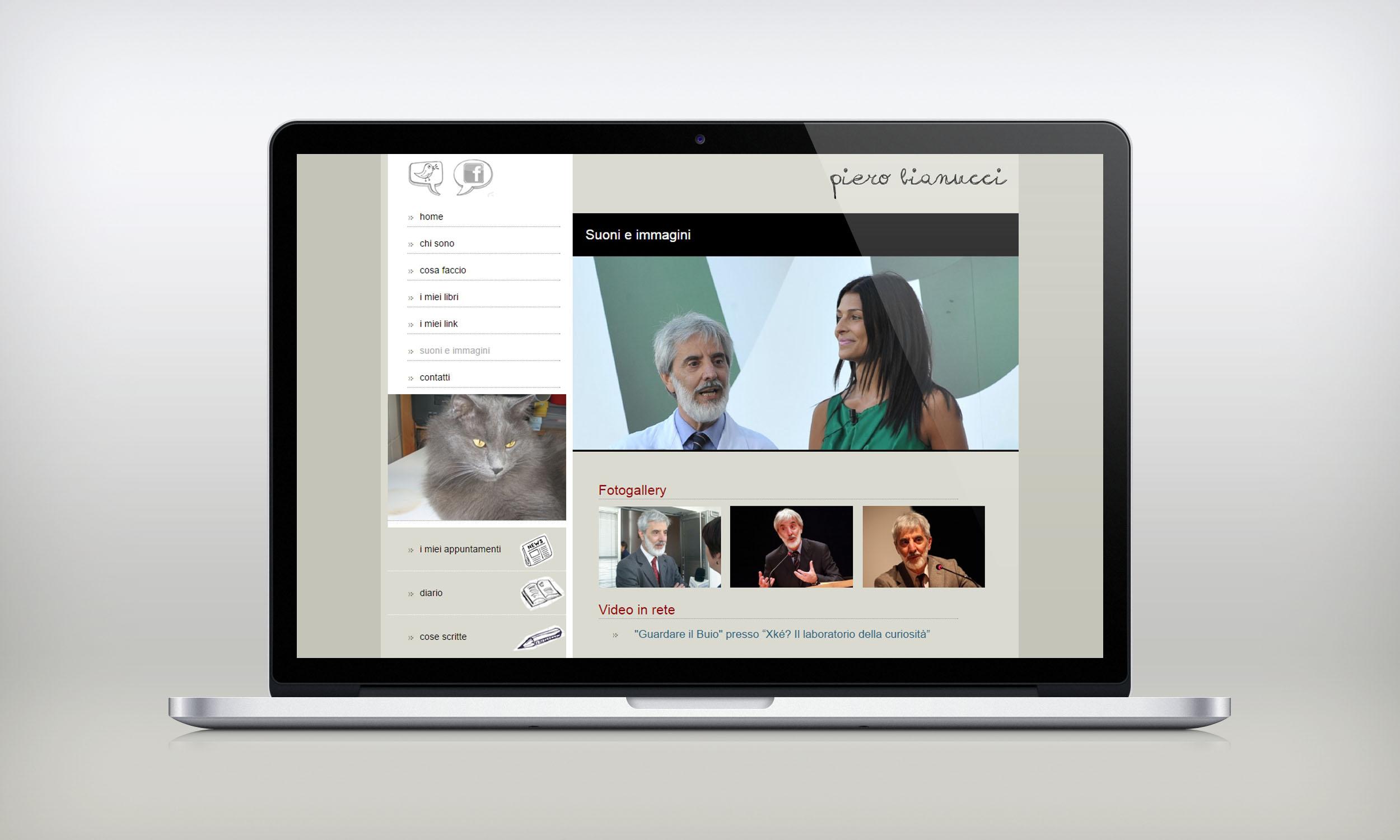 sito web piero bianucci
