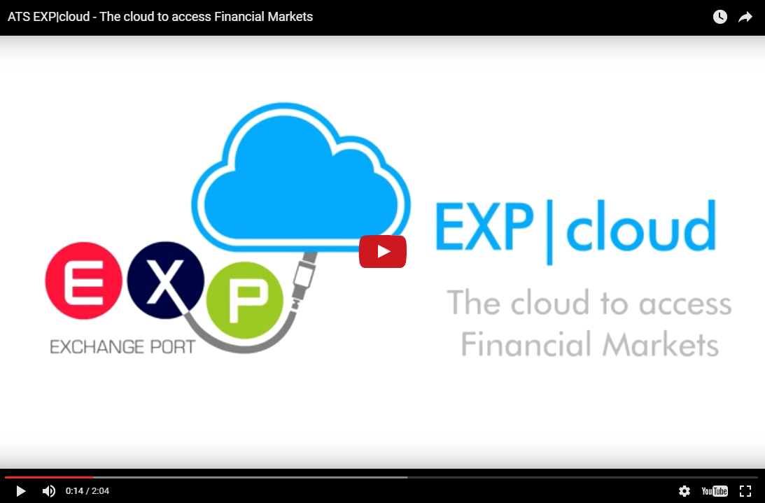 EXP|cloud – The cloud to access Financial Markets